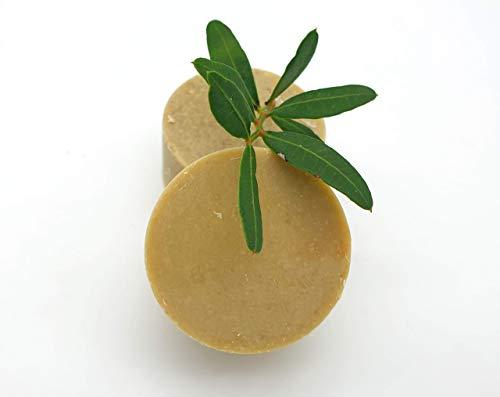 Haarbalsam/fester Conditioner Kräutergrten - bei leicht fettenden Haaren und trockenen Spitzen, vegan, palmölfrei und ohne Plastik, von kleine Auszeit Manufaktur