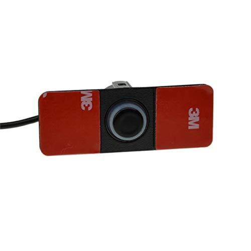 Best Prices! Black : 13mm Flat Sensor Car Video Parking Sensor Reverse Backup Radar Auto Reversing D...