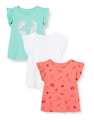 ZIPPY Pack 3 Camisetas SS20, Dusty Jade Green 15/5711, 4/5 para Niñas