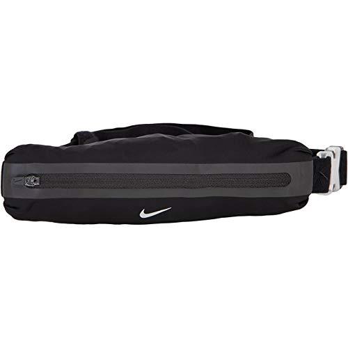 Nike Slim 2.0 Waistpack Gürteltasche (Black/Black/Silver, one Size)