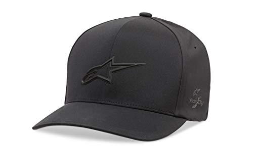 Alpinestars Ageless Delta Hat Gorra de béisbol, Negro (Black 10), Medium (Talla...
