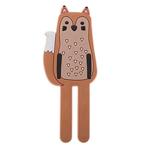 Imanes de nevera para niños y niñas, 4 tipos de imanes para nevera, gancho magnético, diseño de animales creativos