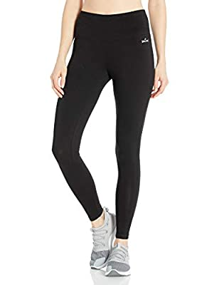 Spalding Women's High-Waisted Legging, Black, X-Large