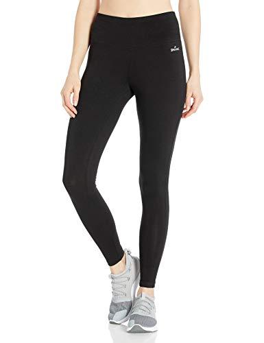 Spalding Women's High-Waisted Legging, Black, Medium