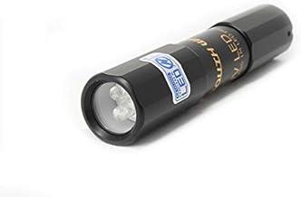 LEDブラックライト 波長375nm 自社製造 JIS規格 防水 日本製 UVライト 日亜化学製 紫外線 UV LED 3灯 紫外線ライト