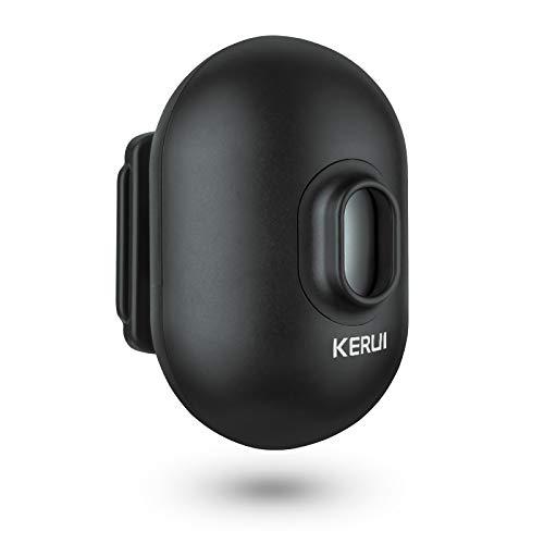 KERUI Extra Add-On PIR Motion Sensor for DW9 Driveway Alarm Wireless Weatherproof IPV4 Outdoor Black
