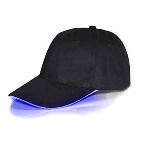 Hihey LED Baseball Hat Sombrero Ajustable Intermitente para