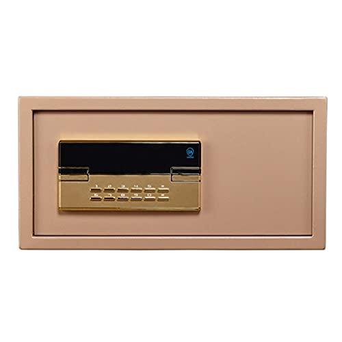 PIVFEDQX Caja de Seguridad de Seguridad, Caja Fuerte de gabinete, con Llave Caja de Seguridad antirrobo Totalmente de Acero para Habitaciones de Hotel, Habitaciones, oficinas, Cajas Fuertes de Pared