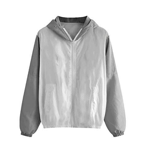 Correr chaqueta de las señoras cremallera de manga larga ropa deportiva al aire libre chaqueta señoras sudaderas deportes mujeres - - X-Large