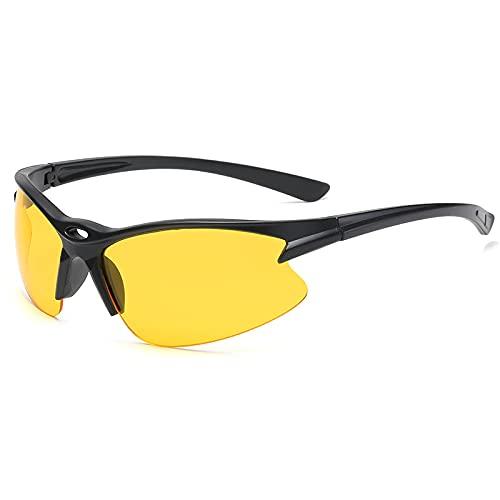 ZXING Deportes al aire libre polarizados gafas de sol, gafas de sol para montar en bicicleta con función de visión nocturna