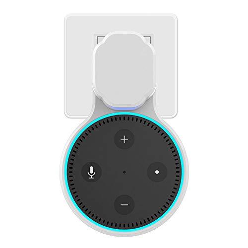 Kamenda Soporte de pared para Alexa Echo Dot 2 para 2ª generación, una solución de ahorro de espacio para tu hogar inteligente 2