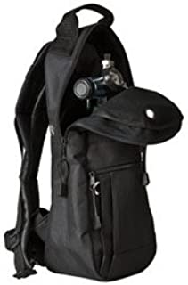 Cylinder Carrying Bags, Black, Backpack Style with High-quality Padded Nylon Fabric