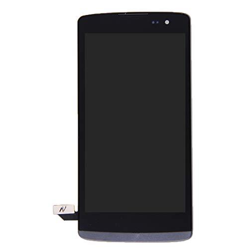 YICHAOYA Reemplazo de Pantalla for LG Leon / H340 (Negro), reparación de Pantalla Rota, Pantalla táctil LCD, ensamblador Total de digitalizador Profesional con Marco, fácil de Instalar