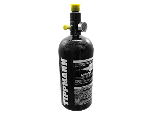Tippmann 0,8L (48ci) HP Tank/Flasche, Fülldruck 3000 PSI mit Regulator (groß)