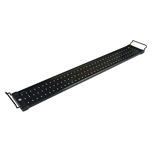 NICREW ClassicLED Aquarium Light, Fish Tank Light with Extendable Brackets, White and Blue LEDs, Size 30 to 36 Inch, 18 Watts