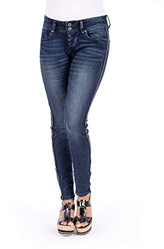 Blue Monkey Damen Jeans Side Stripe Mary-10306 27/34