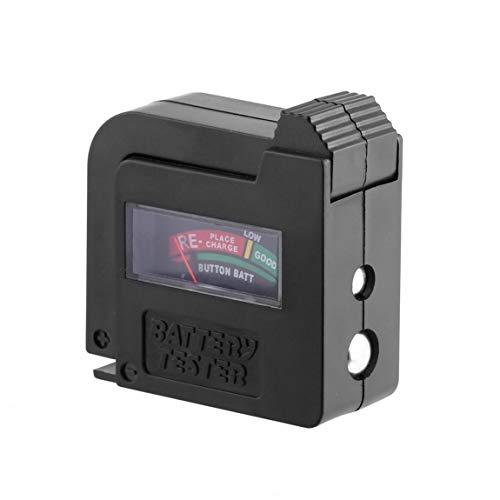 SeniorMar Verbesserter BT860-Batterietester Universal-Batteriespannungstester AA AAA CD 9-V-Knopfzelleninstrumentierung Power-Batterietester