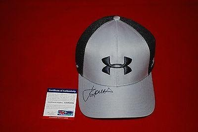 Best Bargain golf star JORDAN SPIETH signed under armour hat 2 - PSA/DNA Certified - Autographed Gol...