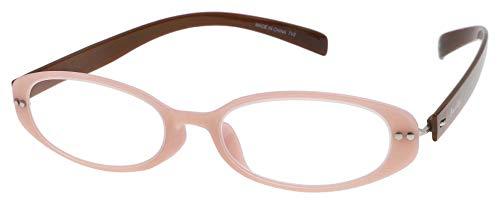 老眼鏡 ベルエクレール リーディンググラス エスプリ・オーバル ベビーピンク +1.50 94032