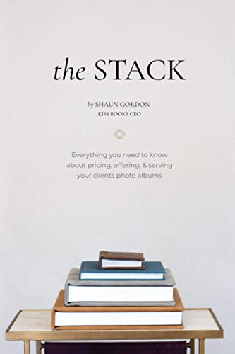 The Stack: Everything you need to know about pricing, offering & serving your clients photo albums.