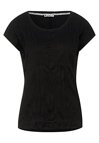 Street One 316389 Camiseta, Negro, 48 para Mujer