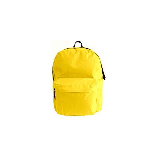 Projects Rucksack 'Basic Line' - aus strapazierfähigen Polyester - Premium Qualität - universell einsetzbar für Damen, Herren & Kinder - Leichter Arbeitsrucksack - 8 Trendige Farben (gelb)