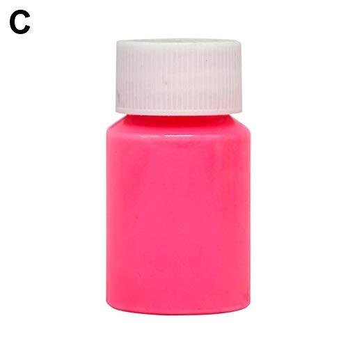mächtig Cola UV fluoreszierendes Pulver, Neon Nacht im Dunkeln leuchten Pigment 8 Farben, leuchten…