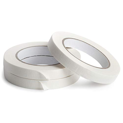 Mr. Pen Masking Tape Roll, Drafting Tape, 0.6 inch, Pack of 3