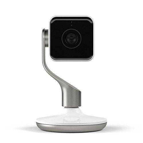 Hive View- Caméra de Surveillance Intérieure - Blanc et Champagne Gold -...