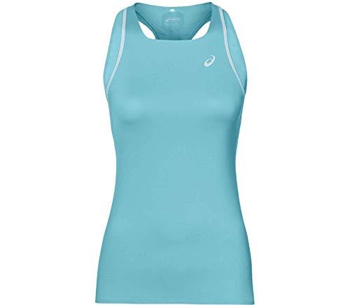 Asics Gel-Cool - Camiseta de tenis para mujer, talla XS, color azul