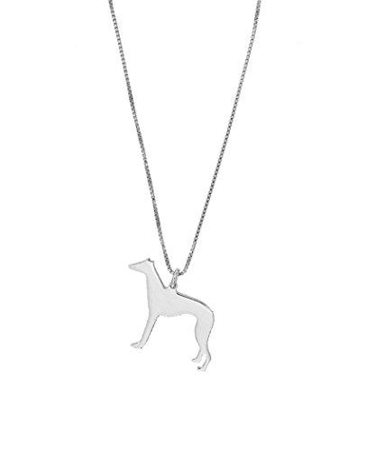 Collar de mujer con colgante de perro de raza Chihuahua Galgero Beagle Jack Russell Basbajo Yorkshire