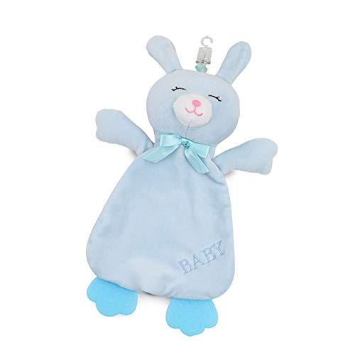 Toalla calmante para bebé – Toalla de mano con dibujos animados para bebé Early Education – Toalla pedagógica calmante y acompaña a a la muñeca de animales durmiendo, servilleta calmante