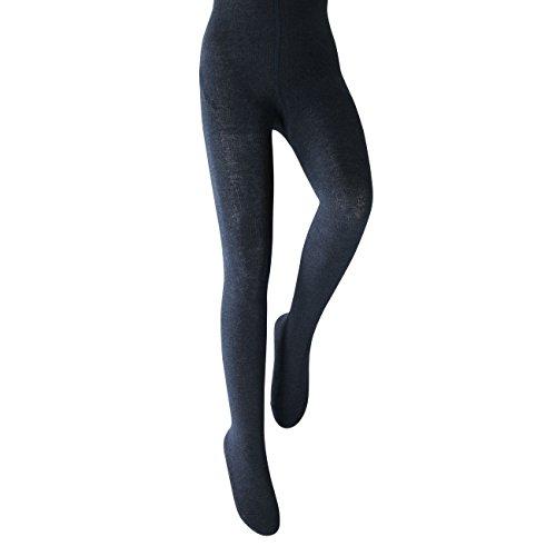 FALKE Kinder Strumpfhose Family jeans mel. (306) 110-116
