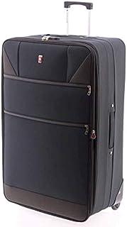 GLADIATOR 80 cm EVA Trolley Time Free and Sportwear, Adult Unisex, Black (Black)