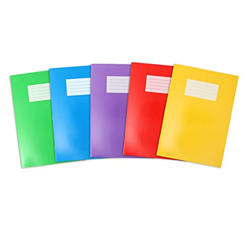 Oxford Exercise Books, A4 Notebooks - Pack of 5
