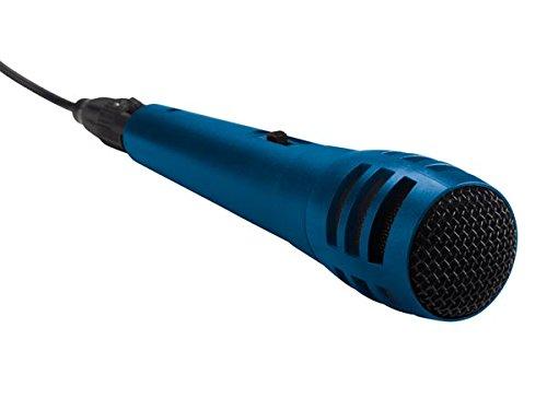 Velleman MIC11BL dynamische microfoon, blauw