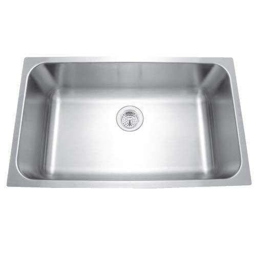 Mirabelle MIRUC309 30' Single Basin Stainless...