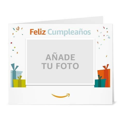 Cheque Regalo de Amazon.es - Imprimir - Carga una foto - Cumpleaños