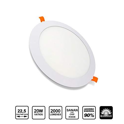Panel LED Redondo ECOMAX · Downlight LED Encastrar