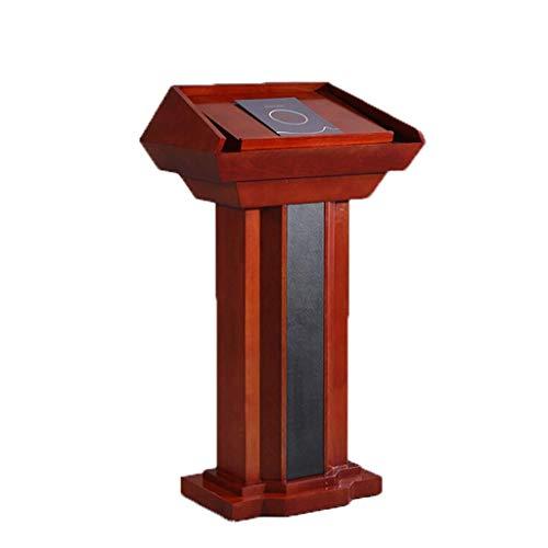 YWAWJ Lezione Piattaforma Parlando Stand Up Desk Negozio Cellulare Podio Podio Piattaforma di Reporting Welcome Desk Information Desk Host Table Desk Reception
