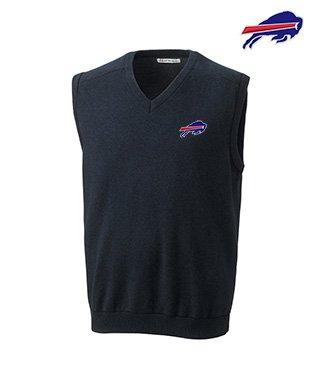 Cutter & Buck Buffalo Bills V-Neck Sweater Vest