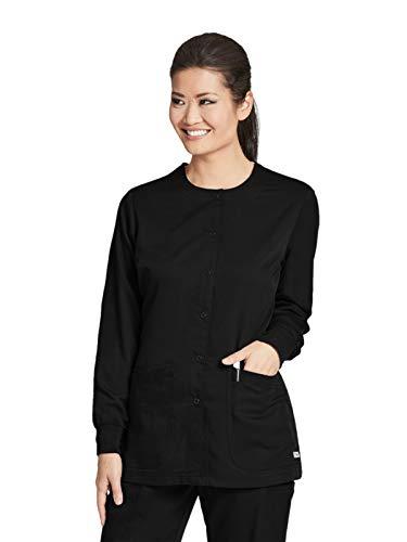 Grey's Anatomy 4450 Warm-Up Jacket Black L