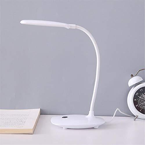 Led Schreibtischlampe, Flexible Schwanenhals-Lesebuch-Nachttischlampe, Einfache Verstellbare Tischlampe