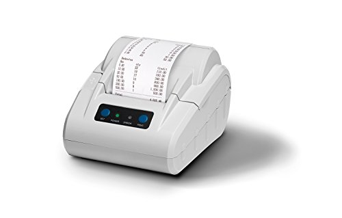 Safescan TP-230 Gris - Imprimante thermique de reçus pour compteurs d'argent Safescan