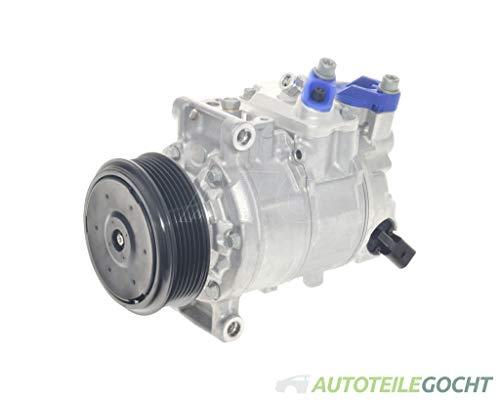 DENSO Klimakompressor für AUDI A4 B7 04-08 8E0260805BQ, 8E0260805BR, 8E0260805CC von Autoteile Gocht