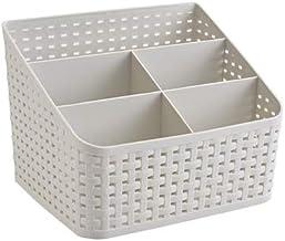 Fai Top kosz do przechowywania, organizer do pudełek kosmetycznych, plastikowe pudełko do przechowywania pulpit 5 kratka p...