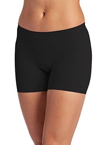 Jockey Women's Underwear Skimmies Short Length Slipshort, Black, m