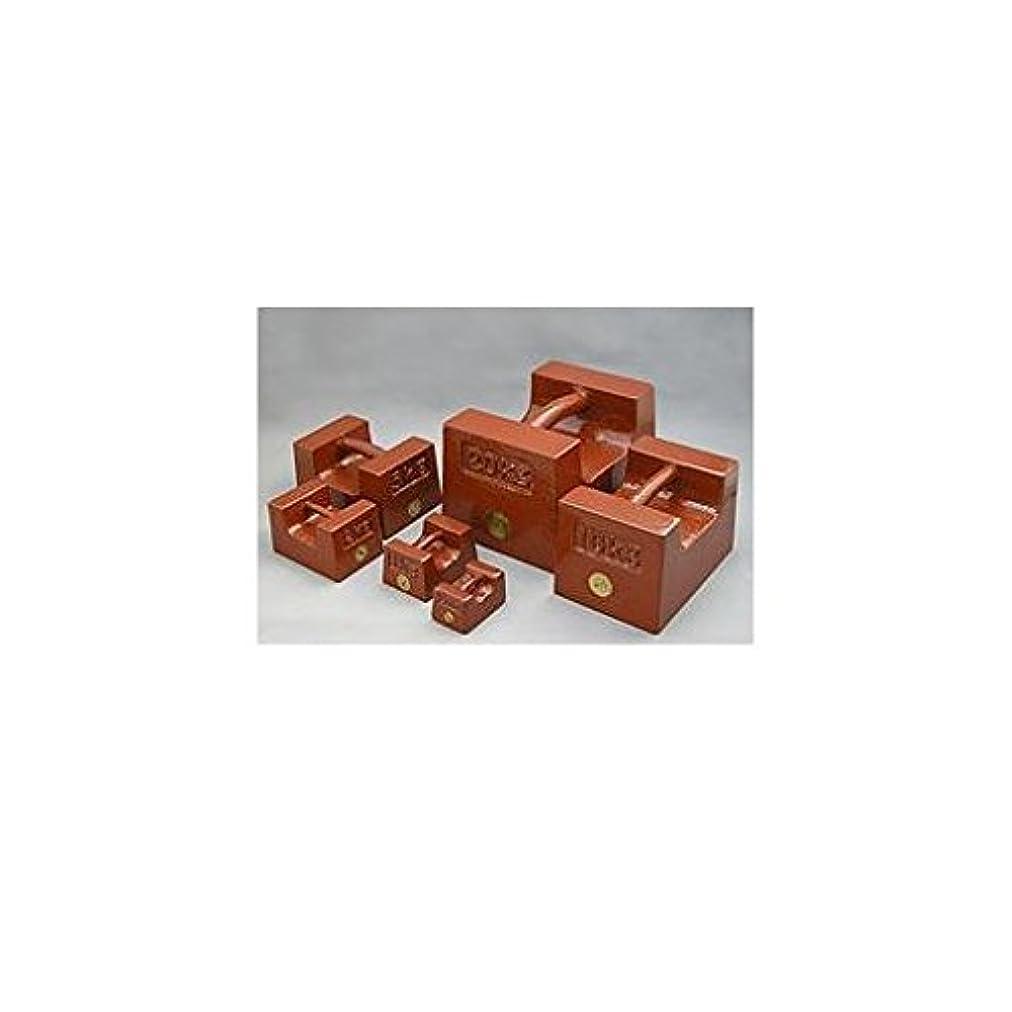 ラフ健康手数料HN15293 鋳鉄製まくら型分銅M2級1kg