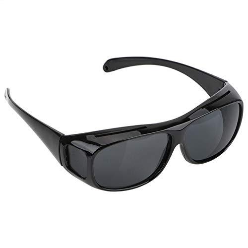 ERIOG Nachtsichtbrille Polarisierte Sonnenbrille Motorrad Auto Fahren Brille Unisex hd Vision Sonnenbrille nachtsichtbrille Brillen uv Schutz