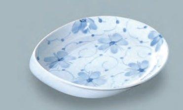 すくいやすい皿、強化磁器 特大鉢